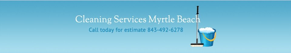 Myrtle Beach cleaning services
